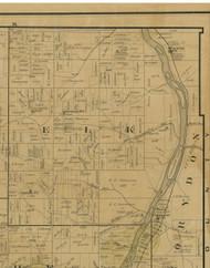 Elk Township, Pennsylvania 1900 Old Town Map Custom Print - Warren Co.