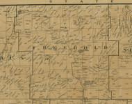 Freehold Township, Pennsylvania 1900 Old Town Map Custom Print - Warren Co.
