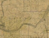 Glade Township, Pennsylvania 1900 Old Town Map Custom Print - Warren Co.