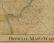 Limestone Township, Pennsylvania 1900 Old Town Map Custom Print - Warren Co.