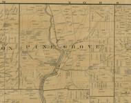 Pine Grove Township, Pennsylvania 1900 Old Town Map Custom Print - Warren Co.
