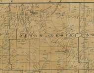 Sugar Grove Township, Pennsylvania 1900 Old Town Map Custom Print - Warren Co.
