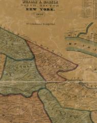 Union Township, Pennsylvania 1856 Old Town Map Custom Print - Washington Co.