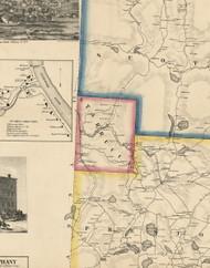 Starrucca Township, Pennsylvania 1860 Old Town Map Custom Print - Wayne Co.