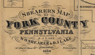 Title of Source Map - York Co., Pennsylvania 1860 - NOT FOR SALE - York Co.