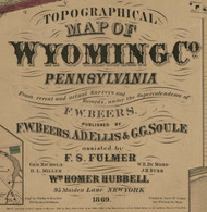 Title of Source Map - Wyoming Co., Pennsylvania 1869 - NOT FOR SALE - Wyoming Co.