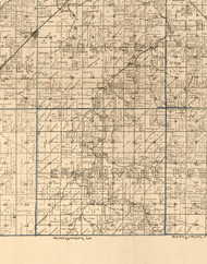 Greenwood, Illinois 1893 Old Town Map Custom Print - Christian Co.