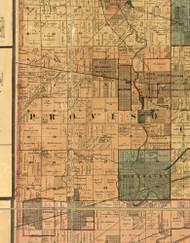 Proviso, Illinois 1886 Old Town Map Custom Print - Cook Co.