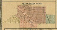 Jefferson Village - Cook Co., Illinois 1890 Old Town Map Custom Print - Cook Dupage Cos.