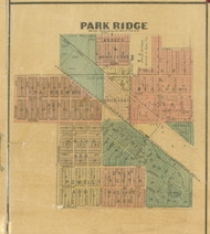 Park Ridge - Cook Co., Illinois 1890 Old Town Map Custom Print - Cook Dupage Cos.