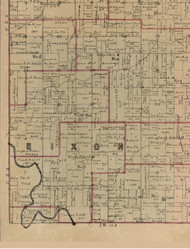 Dixon, Illinois 1891 Old Town Map Custom Print - Edwards Co.