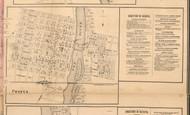 Geneva Village - Kane Co., Illinois 1860 Old Town Map Custom Print - Kane Co.