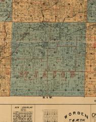 St  Jacob, Illinois 1892 Old Town Map Custom Print - Madison Co.