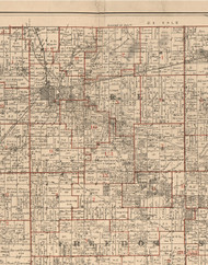 Earl, Illinois 1895 Old Town Map Custom Print - LaSalle Co.