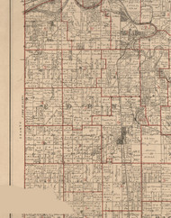 Eden, Illinois 1895 Old Town Map Custom Print - LaSalle Co.