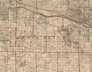 Fall River, Illinois 1895 Old Town Map Custom Print - LaSalle Co.