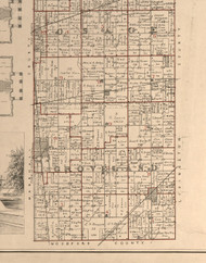 Groveland, Illinois 1895 Old Town Map Custom Print - LaSalle Co.