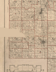 Hope, Illinois 1895 Old Town Map Custom Print - LaSalle Co.