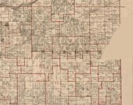 Miller, Illinois 1895 Old Town Map Custom Print - LaSalle Co.