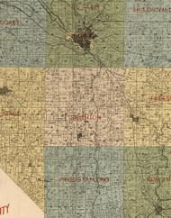 Smithton, Illinois 1899 Old Town Map Custom Print - St. Clair Co.