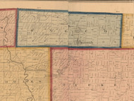 Oneco, Illinois 1859 Old Town Map Custom Print - Stephenson Co.
