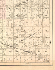 Hanaman, Illinois 1896 Old Town Map Custom Print - Whiteside Co.