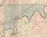 Lyndon, Illinois 1896 Old Town Map Custom Print - Whiteside Co.