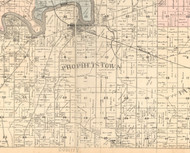 Prophetstown, Illinois 1896 Old Town Map Custom Print - Whiteside Co.