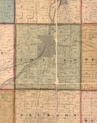 Joliet     , Illinois 1862 Old Town Map Custom Print - Will Co.