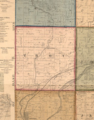 Troy, Illinois 1862 Old Town Map Custom Print - Will Co.