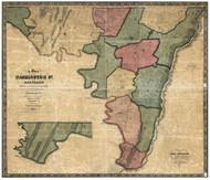Washington County Maryland 1859 - Old Map Reprint