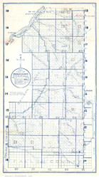 Wibaux County Montana 1921 - Old Map Reprint