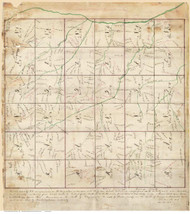 Caswell County North Carolina 1868 - Old Map Reprint