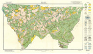 Alleghany County Soils Map, 1915 North Carolina - Old Map Reprint