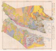 Beaufort County Soils Map, 1917 North Carolina - Old Map Reprint