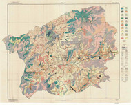 Buncombe County Soils Map, 1920 North Carolina - Old Map Reprint