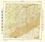 Caswell County Soils Map, 1908 North Carolina - Old Map Reprint