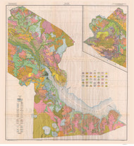 Craven County Soils Map, 1929 North Carolina - Old Map Reprint