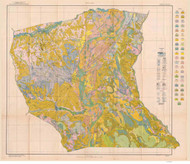 Cumberland County Soils Map, 1922 North Carolina - Old Map Reprint
