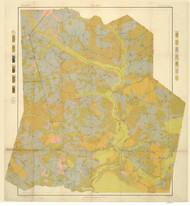 Duplin County Soils Map, 1905 North Carolina - Old Map Reprint