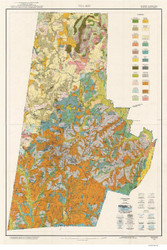 Durham County Soils Map, 1920 North Carolina - Old Map Reprint
