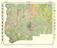 Forsyth County Soils Map, 1913 North Carolina - Old Map Reprint