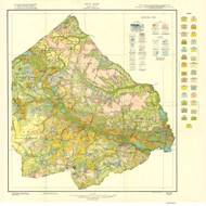 Greene County Soils Map, 1924 North Carolina - Old Map Reprint