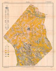 Hoke County Soils Map, 1918 North Carolina - Old Map Reprint