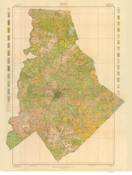 Mecklenburg County Soils Map, 1910 North Carolina - Old Map Reprint