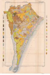 New Hanover County Soils Map, 1906 North Carolina - Old Map Reprint