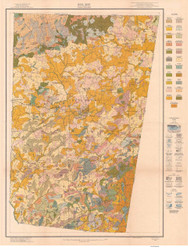 Orange County Soils Map, 1918 North Carolina - Old Map Reprint