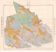 Pasquotank & Perquimans County Soils Map, 1905 North Carolina - Old Map Reprint