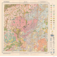 Person County Soils Map, 1929 North Carolina - Old Map Reprint