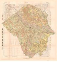 Pitt County Soils Map, 1909 North Carolina - Old Map Reprint